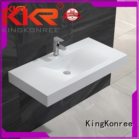 Quality KingKonree Brand wall mounted bathroom basin wash