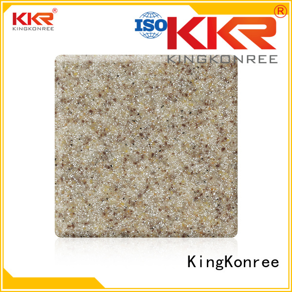 Wholesale modified acrylic solid surface sheet solid KingKonree Brand