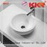 acyrlic bathroom KingKonree Brand oval above counter basin