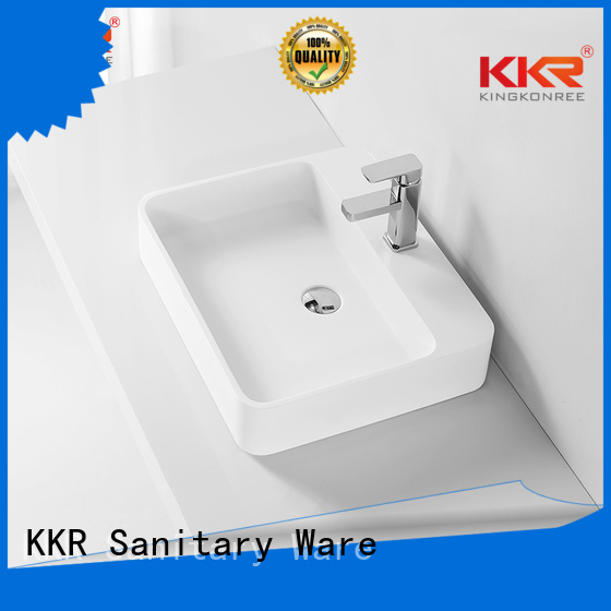 oval above counter basin basin pure quality Warranty KingKonree